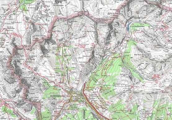 Bardonecchia Cartina Geografica.Carte Geografiche Politiche Fisiche Stradali Trekking