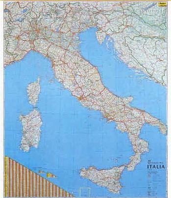 Cartina Italia Con Legenda.Le Scale Nelle Carte Geografiche Rapporto Con La Realta