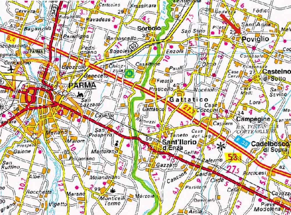 Marche Cartina Stradale.Carte Geografiche Politiche Fisiche Stradali Trekking