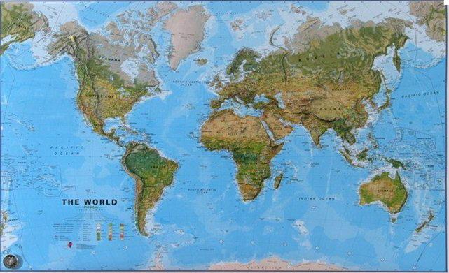 Cartina Muta Del Planisfero.Carte Geografiche Politiche Fisiche Stradali Trekking